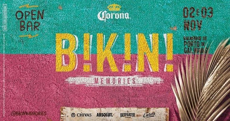 Para o feriado: Festa com selo carvalheira Bikini memories em Porto