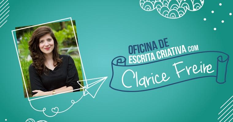 Oficina de escrita criativa com Clarice Freire na livraria Jaqueira