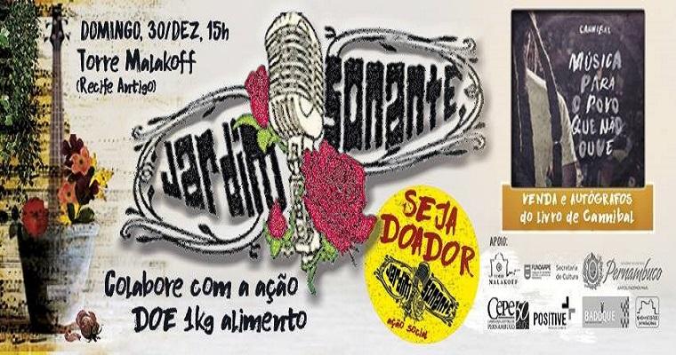 Jardim Sonante realiza última edição do ano neste domingo (30)