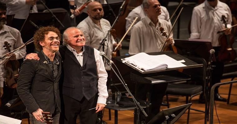 Nando Reis realizará concerto  com a Orquestra Petrobras Sinfônica