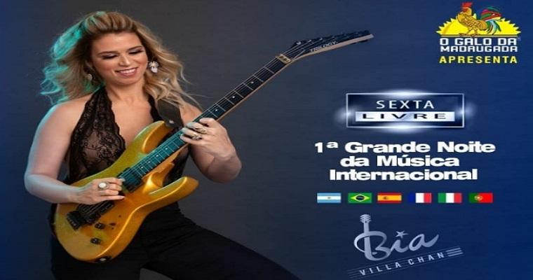 '1ª Grande Noite de Música Internacional' será realizada nesta sexta