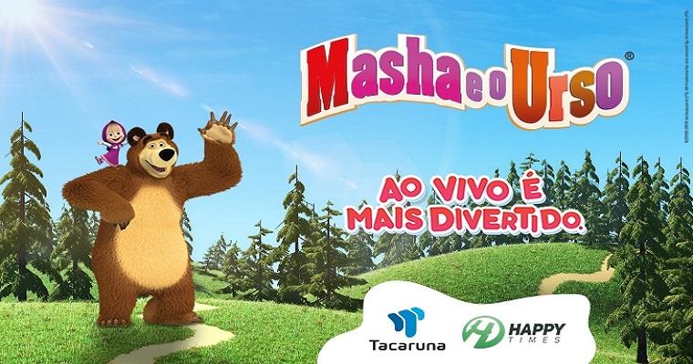 Shopping Tacaruna convida criançada para curtir com Masha e o Urso