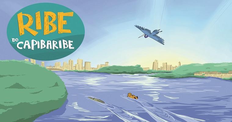 Rio Capibaribe é tema de livro infantil lançado no Recife