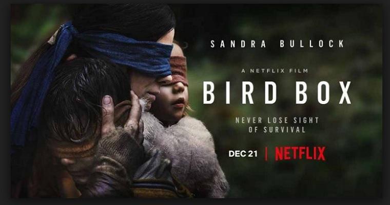 Nova febre da internet, o filme 'Bird Box' divide opiniões