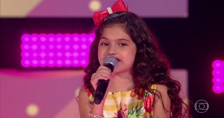 Recifense Palloma Gueiros conquista vaga no The Voice Kids 2019
