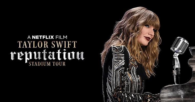 Filme-show sobre turnê de Taylor Swift é lançado na Netflix