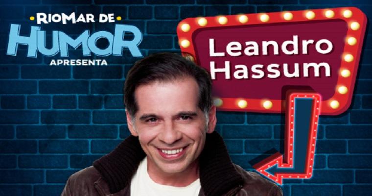 Leandro Hassum volta ao Recife com novo show #RindocomHassum