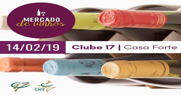 4ª Edição do Mercado de Vinhos acontece nesta quinta-feira (14)