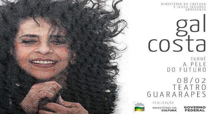 Gal Costa apresenta nova turnê no Recife