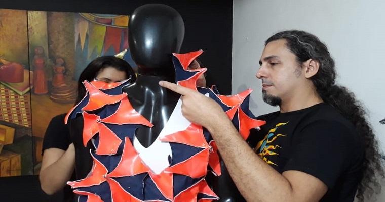 Leopoldo Nóbrega assina figurinos da abertura do Carnaval de Recife