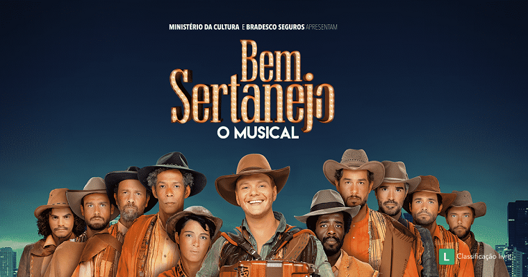 'Bem Sertanejo – O Musical' chega em março ao Recife
