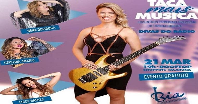 Bia Villa-Chan é atração do Taca Mais Música desta quinta-feira