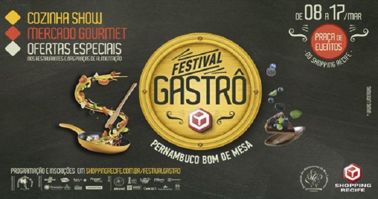 Shopping Recife promove 3ª edição de Festival Gastronômico
