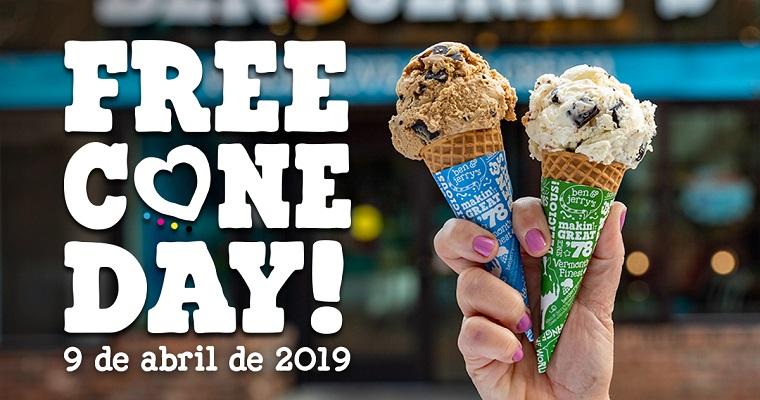 Free Cone Day 2019 é comemorado nesta terça-feira (9)