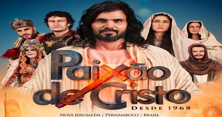 Paixão de Cristo de Nova Jerusalém acontece entre 13 a 20 de abril