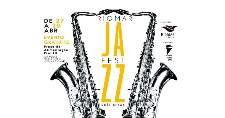 6ª edição do 'RioMar Jazz Fest' tem inicio no próximo sábado (27)