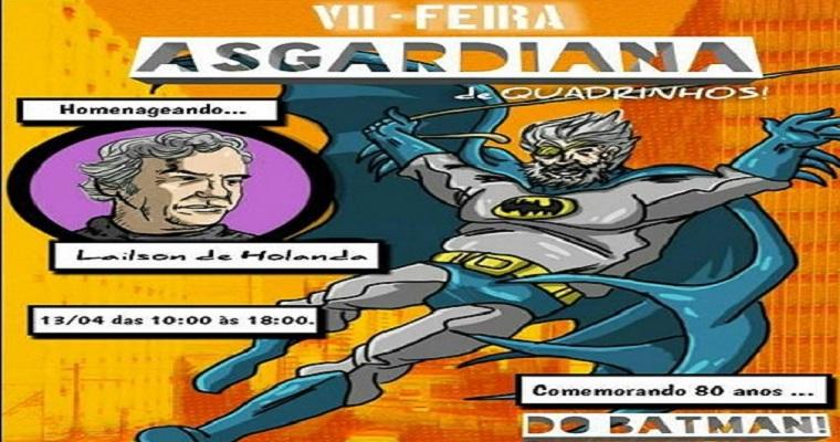 Sétima edição da Feira Asgardiana acontece neste sábado (13)