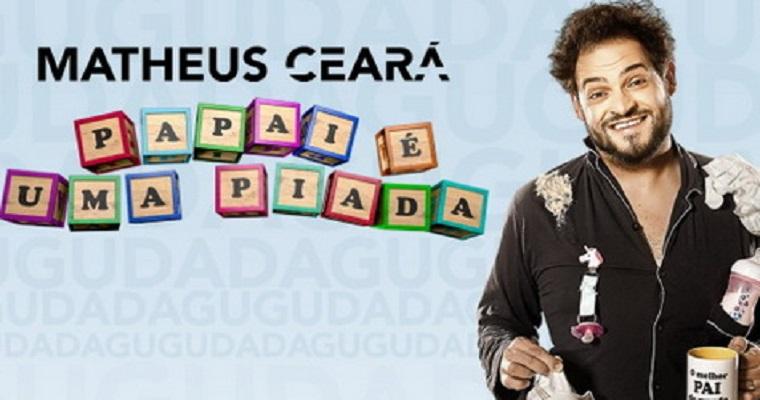 Matheus Ceará traz espetáculo inédito para o Recife