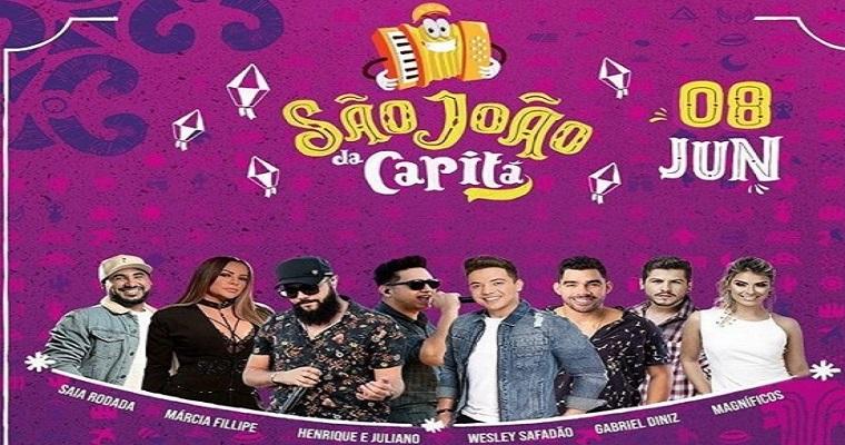 São João da Capitá 2019 já tem data e atrações confirmadas