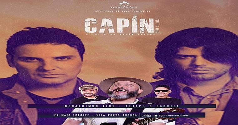 'Capín Cubano' comemora 15 anos em show nesta sexta (24)