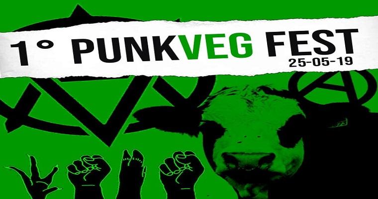 1º edição do PunkVeg Fest acontece neste sábado (25)