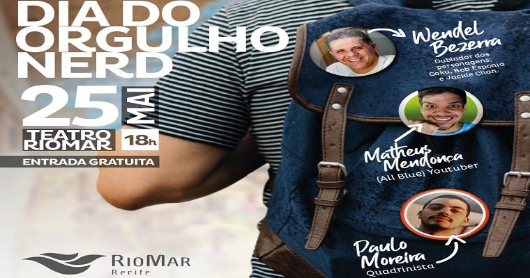 RioMar Recife celebra Dia do Orgulho Nerd com evento gratuito