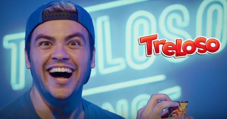 Luccas Neto estrela em nova propaganda do biscoito Treloso