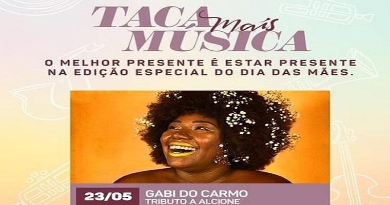 Gabi do Carmo homenageia Alcione em show no Tacaruna