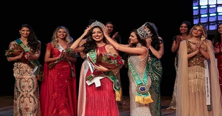 Andresa Alves é a ganhadora do Miss Brasil Latina 2019