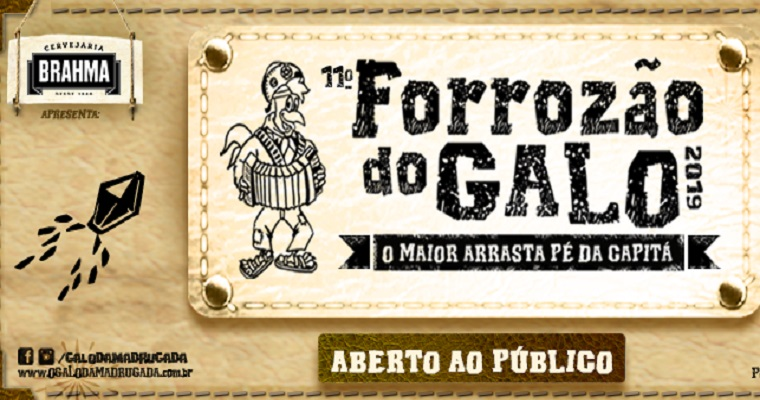 11° edição do Forrozão do Galo traz Elba Ramalho, Michelle Melo e Joelma