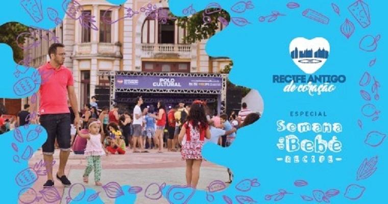 Recife Antigo de Coração: confira a programação deste domingo (26)