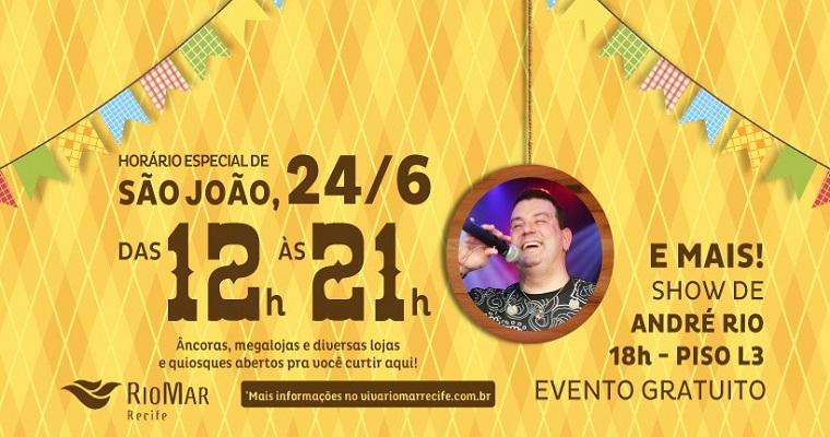 RioMar Forró & Tradição tem programação junina especial