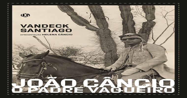 Escritor Vandeck Santiago lança Iivro nesta quinta-feira (13)
