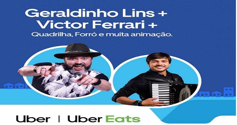 Uber realiza 'Arraiá 2.0' neste domingo em Recife