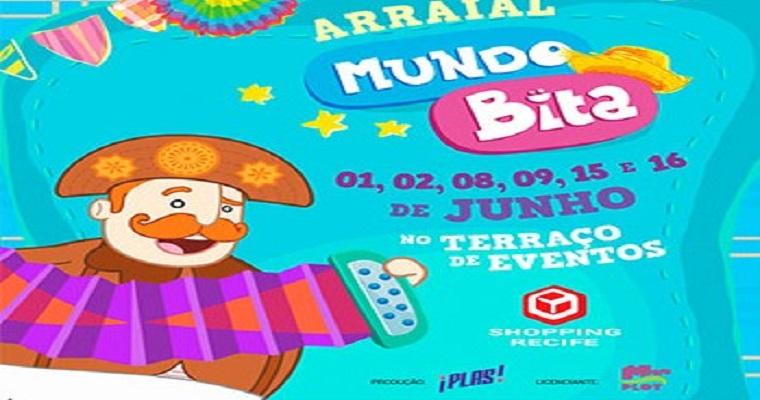 'Arraial do Bita' teve inicio neste fim de semana no Shopping Recife
