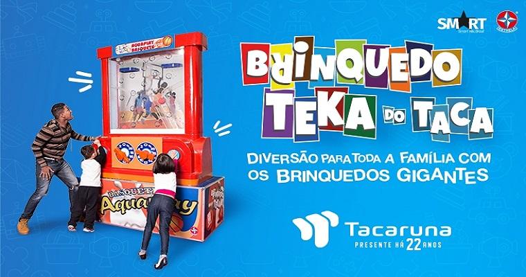 Férias: confira a programação preparada pelo shopping Tacaruna