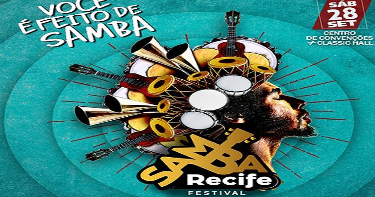 Divulgadas as atrações para o Samba Recife 2019