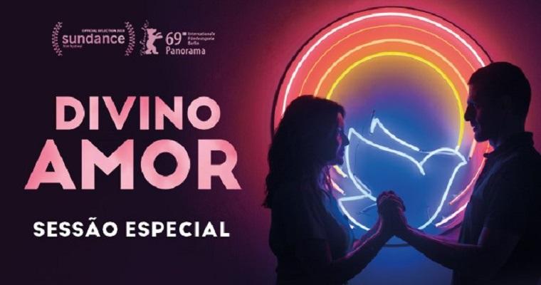 'Divino Amor' terá uma sessão especial em Recife nesta terça-feira