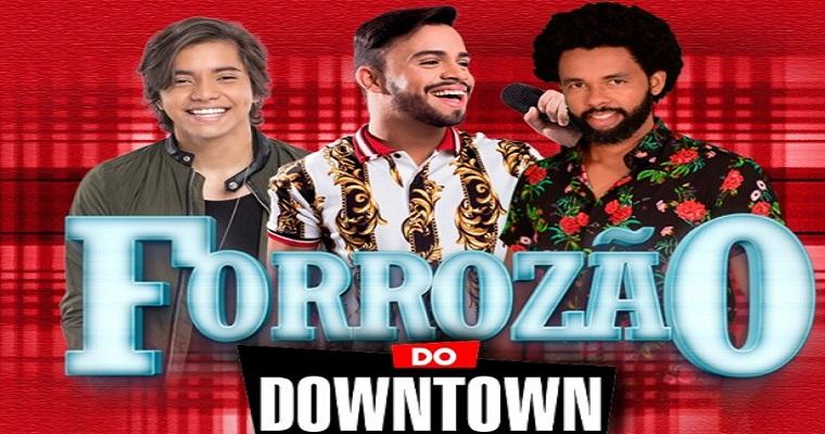'Forrozão do Downtown' é atração desta sexta-feira