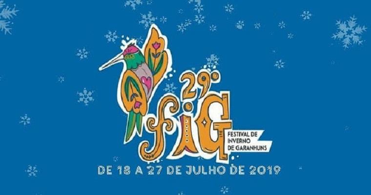 29º edição do Festival de Inverno de Garanhuns tem início no dia 18