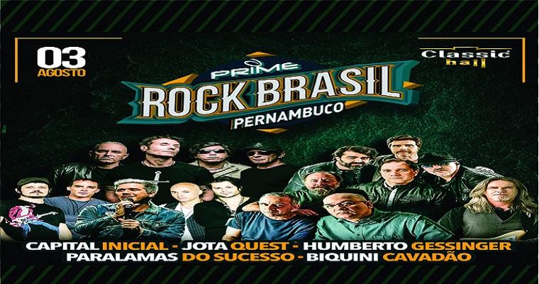 Festival Prime Rock Pernambuco agita o Classic Hall neste sábado