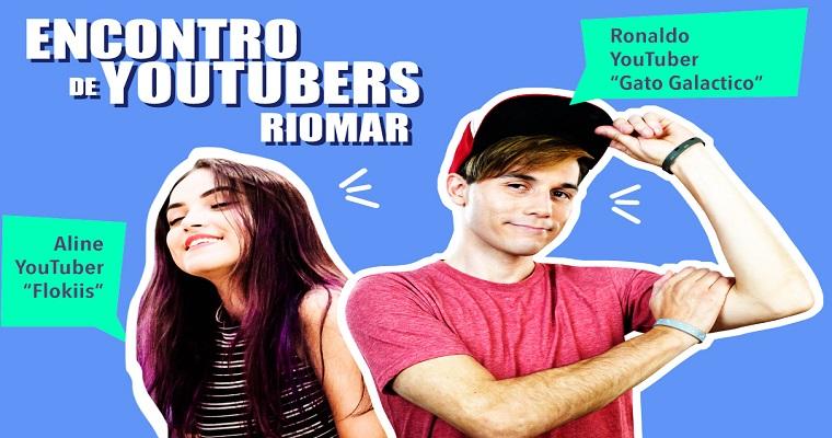 Gato Galáctico e Flokiis participam do Encontro de YouTubers no RioMar