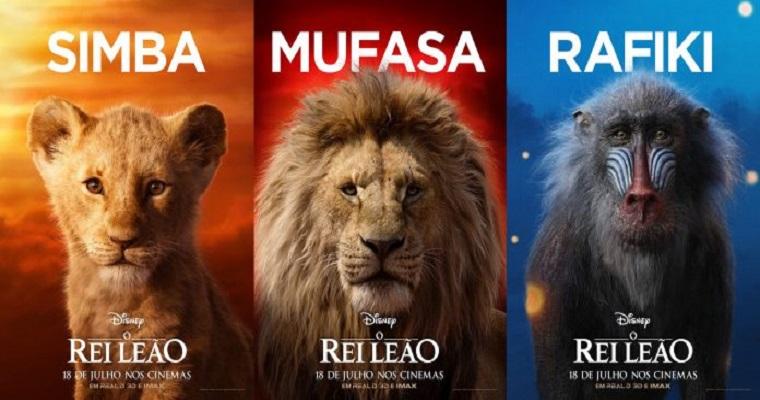 O Rei Leão: Remake da Disney foi o lançamento da semana