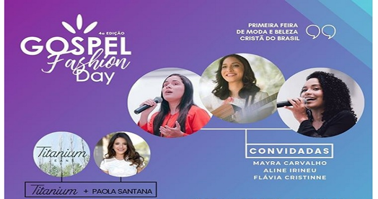 Gospel Fashion Day será realizado no  Paulista North Way Shopping