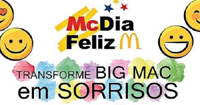 McDia feliz 2019 será realizado hoje