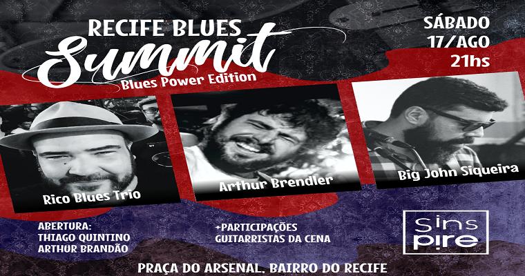2° edição do Recife Blues Summit acontece neste sábado