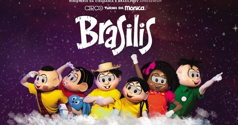 Espetáculo Brasilis da Turma da Mônica chega em Recife