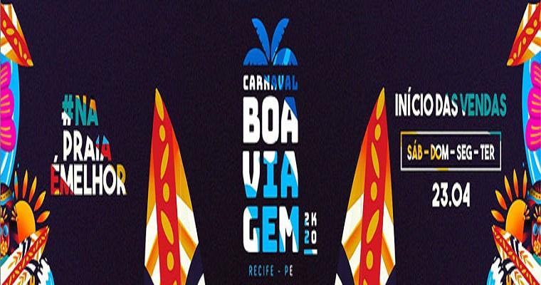 Carnaval Boa Viagem anuncia atrações e inicia venda de ingressos
