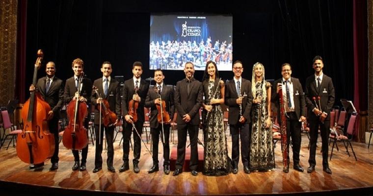 Orquestra Criança Cidadã apresenta concerto na Caixa Cultural
