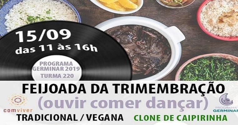 Feijoada da Trimembração reúne comida, música e dança no Recife